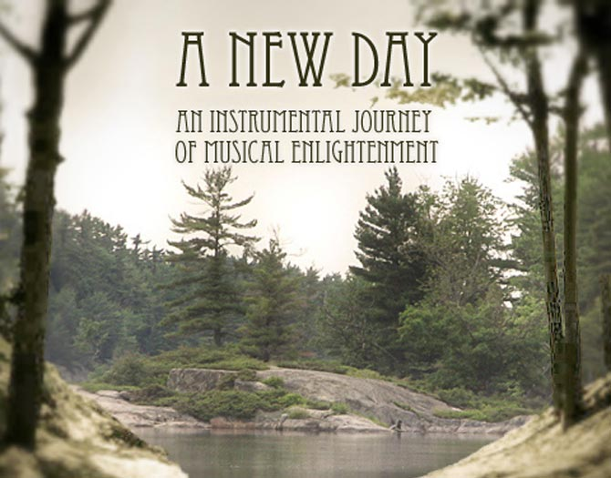 A New Day CD Cover