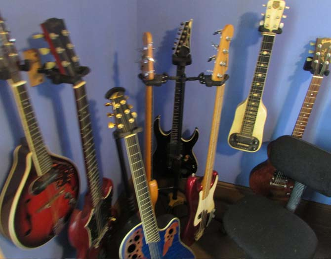 Forest of Select Stringed Instruments